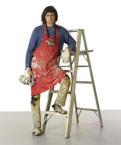 Duane Hanson, 'Artist With Ladder', 1972