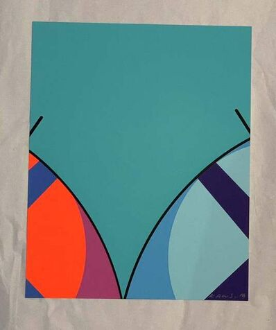 KAWS, 'UNTITLED (MOCAD PRINT) ', ca. 2020