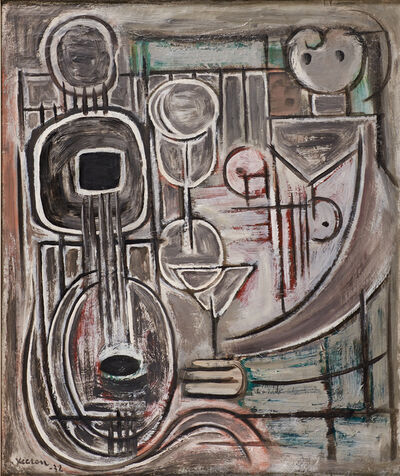 Jean Xceron, 'Untitled (Mandolin Abstraction)', 1932