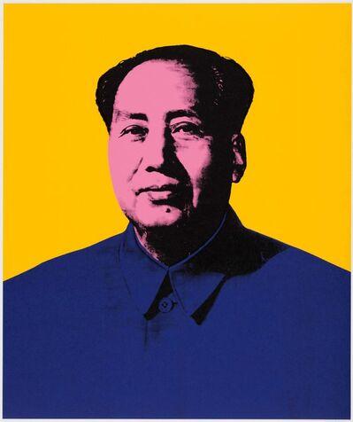 Paul Stephenson, 'Mao - Yellow Medium Azo, Acra Violet, Prussian Blue', 2020