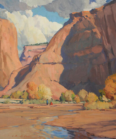 """G. Russell Case, ' """"Autumn Canyon""""', 2018"""