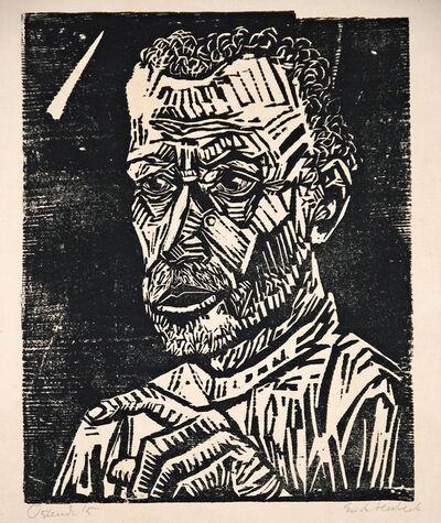 Erich Heckel, 'Ein Jünger (A Younger)', 1915