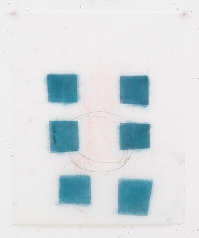 Vicki Sher, 'Blue Squares', 2017