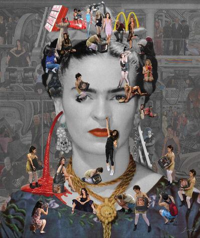 Lluis Barba, 'Self Portrait: Frida Khalo', 2011