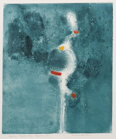 Ruth Eckstein, 'Haiku : Pond - Fog - Egret', 1973