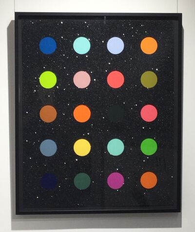 Damien Hirst, 'Methylamine-13C (black)', 2014