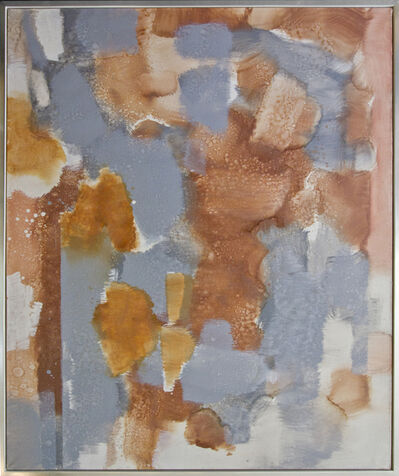 Carl Holty, 'Untitled (Orange, Gray)', ca. 1972