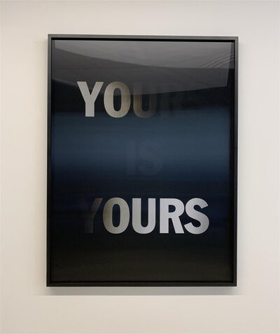 Hank Willis Thomas, 'Mine is Yours, Yours and Mine (BLACK)', 2019
