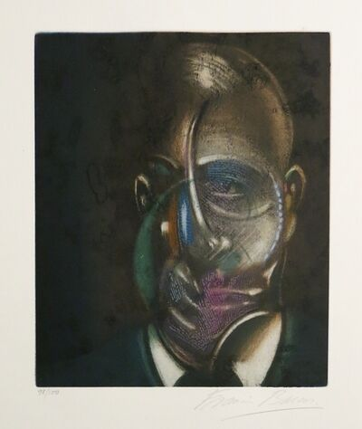 Francis Bacon, 'Portrait of Michel Leiris', 1978