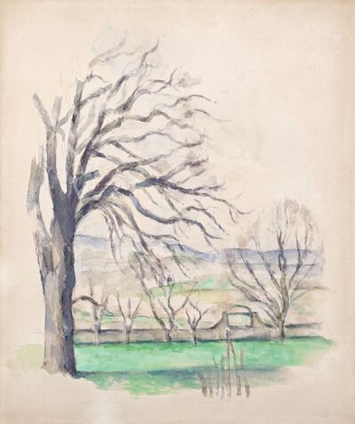 Paul Cézanne, 'Arbre dépouillé au Jas du Bouffan'
