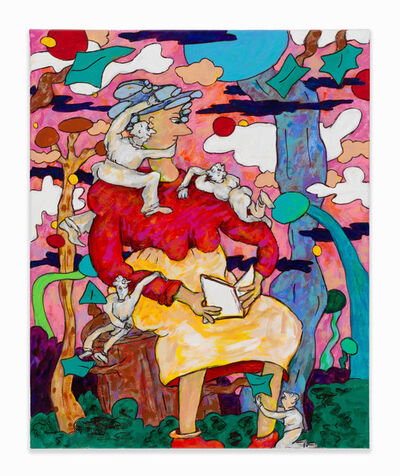 Gladys Nilsson, 'Blank Verse', 2018