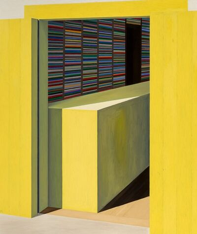 Emilio Sanchez, 'Yellow Store'