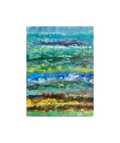 Victoria Borisova, 'Blue-Green obsession III (Framed 11x14)', 2017
