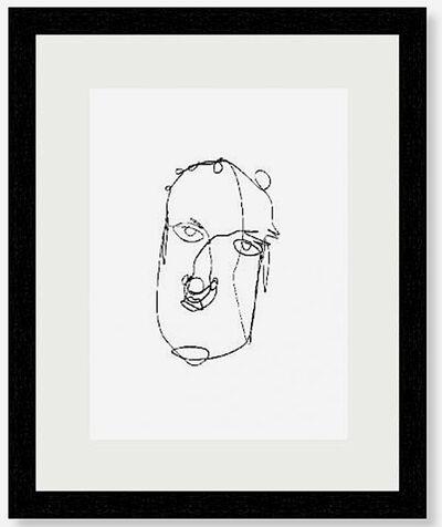 Alexander Calder, 'Wire Portrait', 1981