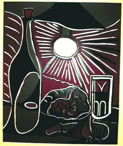 Pablo Picasso, 'Nature Morte a la Bouteille', 1962