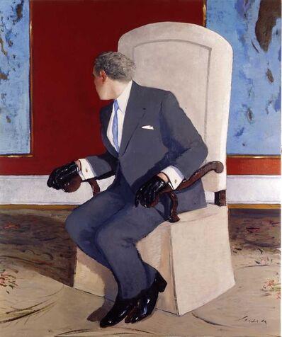 Julio Larraz, 'Man Talking to his Shadow ', 2006