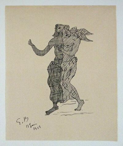 Georges Braque, 'Mythological Figure', 1958