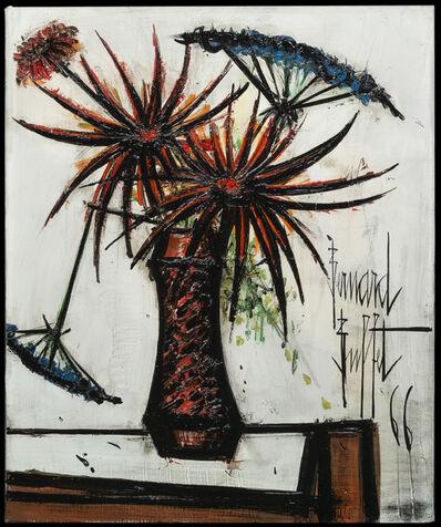 Bernard Buffet, 'Fleurs Oranges et Ombelles ', 1966