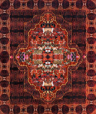 Nora Aslan, 'Red Rug', 1997