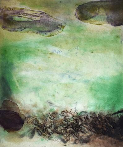 Zao Wou-Ki 趙無極, 'Composition VIII, from: Canto Pisan', 1972