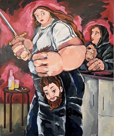 Cristina BanBan, 'I saw Judith and Holofernes in My Kitchen Last Night', 2019