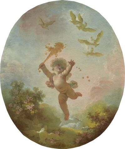 Jean-Honoré Fragonard, 'Love as Folly', ca. 1773/1776