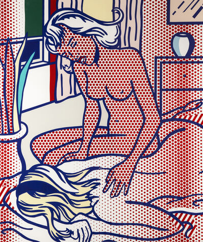 Roy Lichtenstein, 'Two Nudes, State 1', 1994