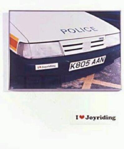 Jeremy Deller, 'I Love Joyriding', 1998