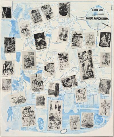 Robert Rauschenberg, 'Stoned Moon Poster', 1969