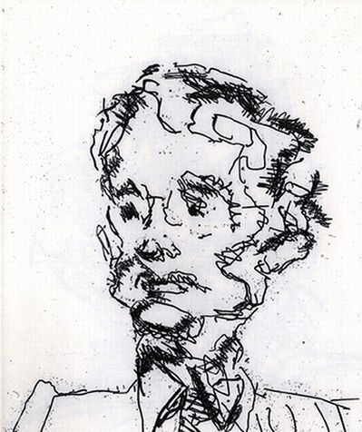 Frank Auerbach, 'Geoffrey', 1989-1990
