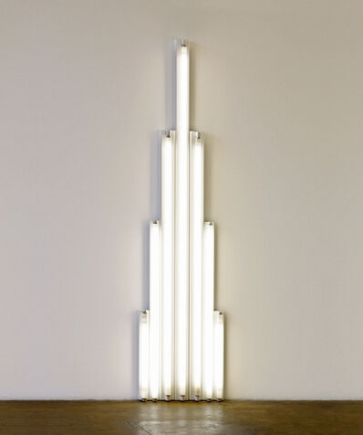 "Dan Flavin, '""Monument"" 1 for V. Tatlin', 1964"