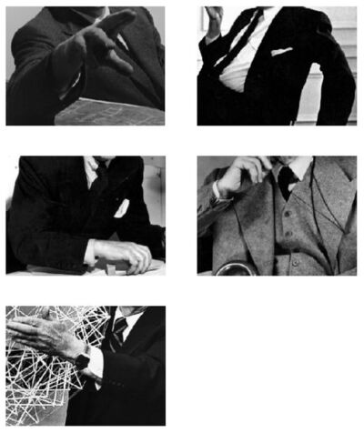 Mario Navarro, 'Estereotipo I (Fuller), II (Lloyd Wright), III (Le Corbusier), IV (Van de Rohe), V (Breuer)', 2017