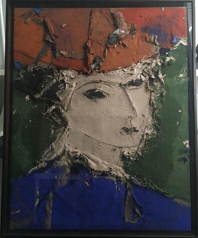 Manolo Valdés, 'Retrato con traje azul', 2008