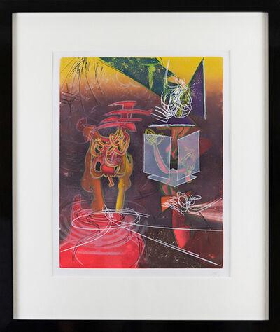 Roberto Matta, 'Une Saison en Enfer Nous ne Sommes pas au Monde', 1977