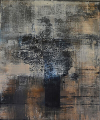 Daniel Brice, 'PP-White/Black', 2018