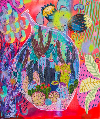 Melanie Daniel, 'Bottled Cacti', 2018