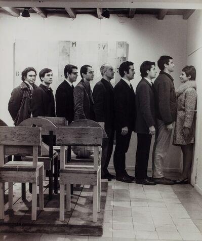Plinio De Martiis, 'Mario Ceroli solo exhibition', 1965