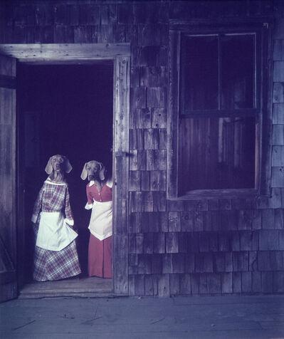 William Wegman, 'Dogs in Doorways'