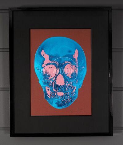 Damien Hirst, ''Till Death Do Us Part, Skull, Brown/Blue', 2012