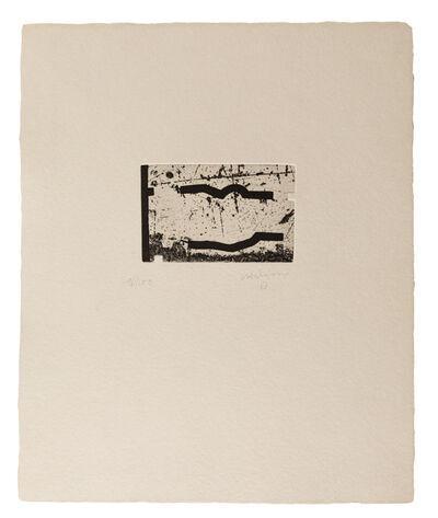 Eduardo Chillida, 'Clara Janés: La indetenible Quietud V', 1998
