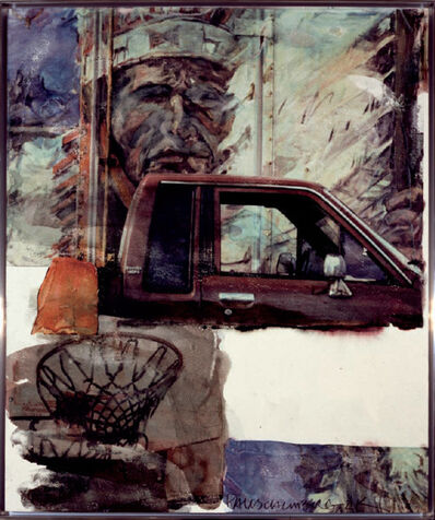 Robert Rauschenberg, 'Untitled (Native American with Truck)', 2000