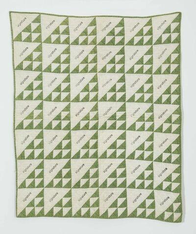 Kasper Bosmans, 'Signature Quilt II', 2018