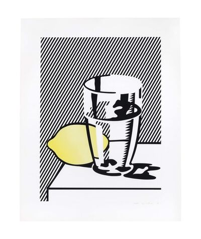 Roy Lichtenstein, 'Untitled (Still Life with Lemon and Glass), from For Meyer Schapiro', 1974