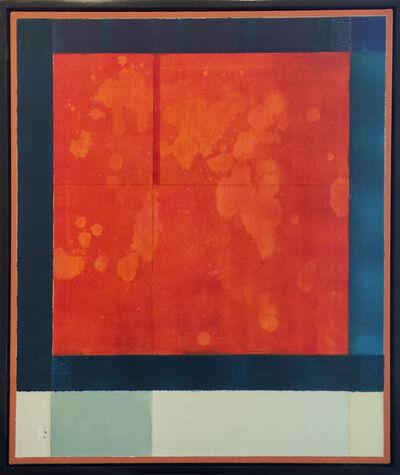 Maximilian Daniels, 'Orange and grey', 2017