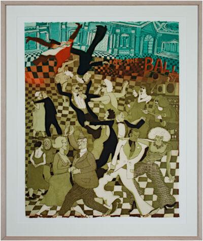Warrington Colescott, 'At the Ball', 1978