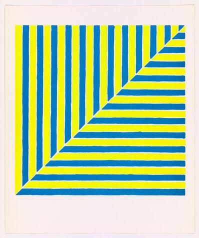 Frank Stella, 'Untitled (Rabat) from X + X (Ten Works by Ten Painters)', 1964