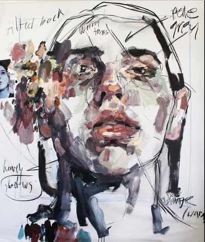 Elly Smallwood, 'Self Portrait with Notations', 2017