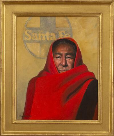 Roseta Santiago, 'A San Felipe Man in Santa Fe', 2019