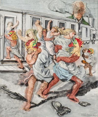 Larry Rivers, 'Art and the Artist: Ernst and the Rape of the Sabine Women', 1992