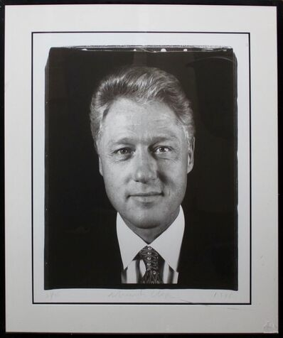 Chuck Close, 'Untitled (President Clinton)', 1996